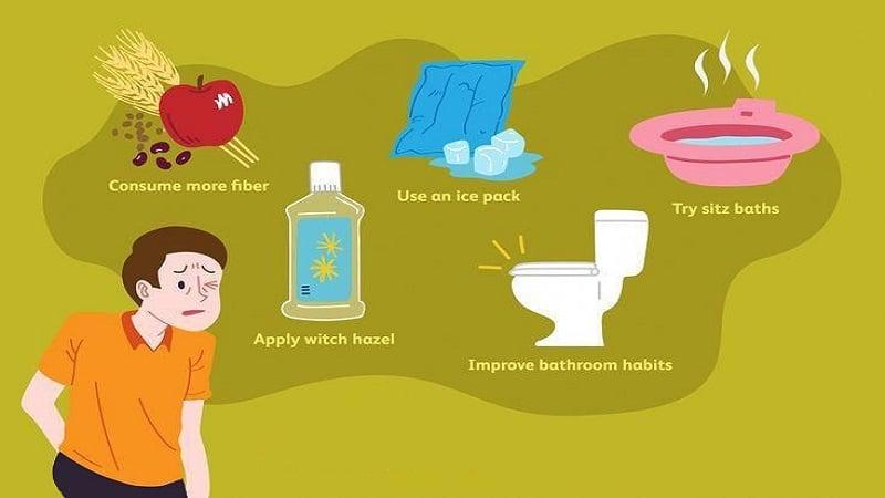 درمان خانگی بواسیر یا هموروئید (درمان بواسیر در خانه)