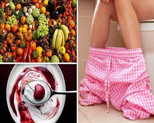 درمان بواسیر با میوه